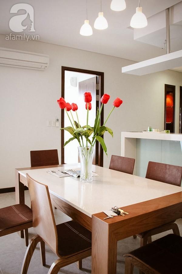 Ngắm căn hộ sang trọng với nội thất tông trầm ở TP Hồ Chí Minh 7
