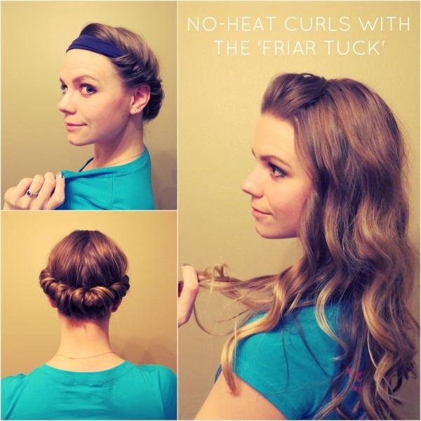 Cách làm tóc xoăn đơn giản không cần nhiệt 4
