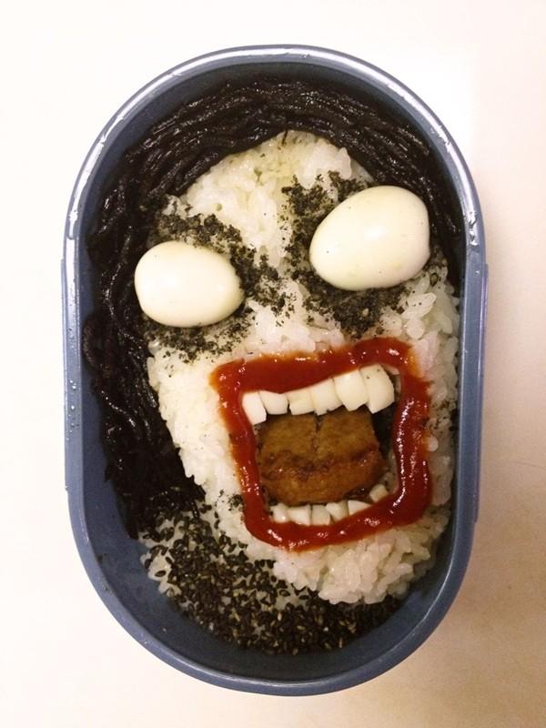 Những hộp cơm Bento nghệ thuật kinh dị 2