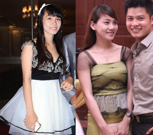 Các bà vợ ăn mặc quê mùa của sao nam Việt 17