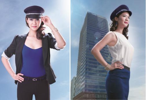 Ba nữ phi công Việt Nam nổi hơn hotgirl 2