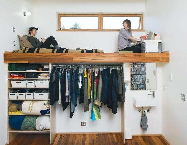 Cách sắp đặt chỗ ngủ cực chuẩn cho nhà chật 2