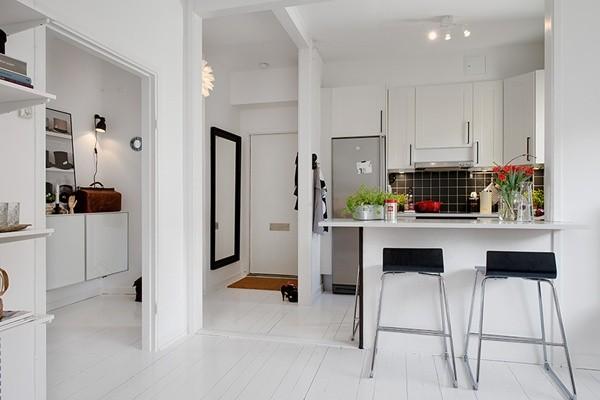 Ghé căn hộ 41m² trắng sáng mà không đơn điệu 1