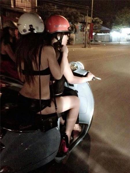 Những hành động lố bịch của thiếu nữ Việt 1