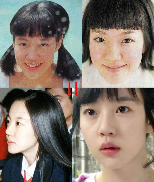 Khuôn mặt mỹ nhân Hàn biến đổi so với thời thiếu nữ 5