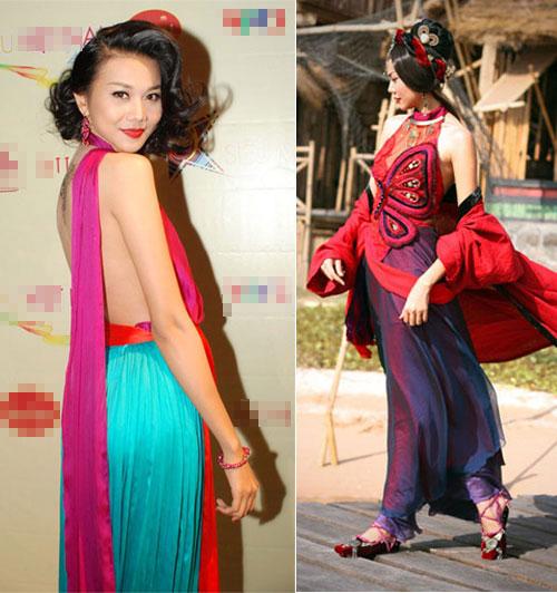 Tận mắt so sánh nhan sắc mỹ nhân Việt cùng diện áo yếm 12