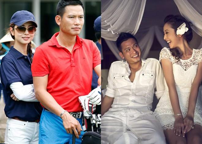Những mỹ nhân Việt lấy chồng vừa giàu vừa điển trai 9
