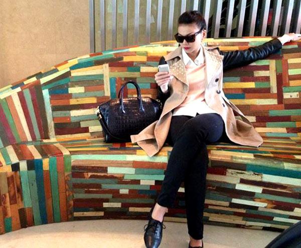 Thanh Hằng mặc jeans sành điệu 7