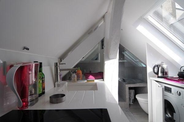 Ngắm căn hộ áp mái 16m² với cách bài trí siêu thông minh 6