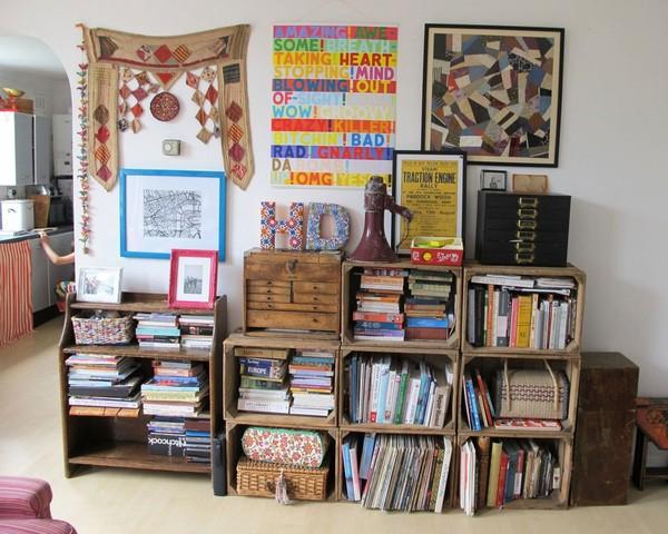 Ngắm căn hộ vintage đẹp như mơ nhờ tận dụng đồ cũ 7