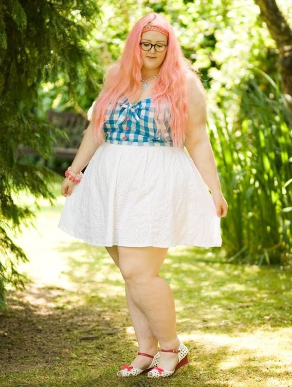 Những cô nàng béo phì nhưng vẫn xinh đẹp nổi tiếng 10