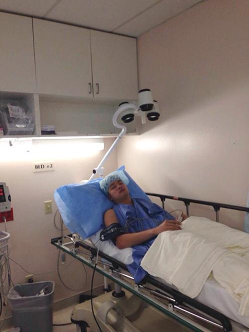 Cao Thái Sơn sang Mỹ để cắt khối u 2