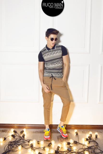 Biến hóa cho thời trang nam trong hè 2013 12