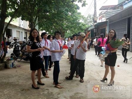Quang Anh trở về quê nhà trong sự chào đón nồng nhiệt của người dân 1