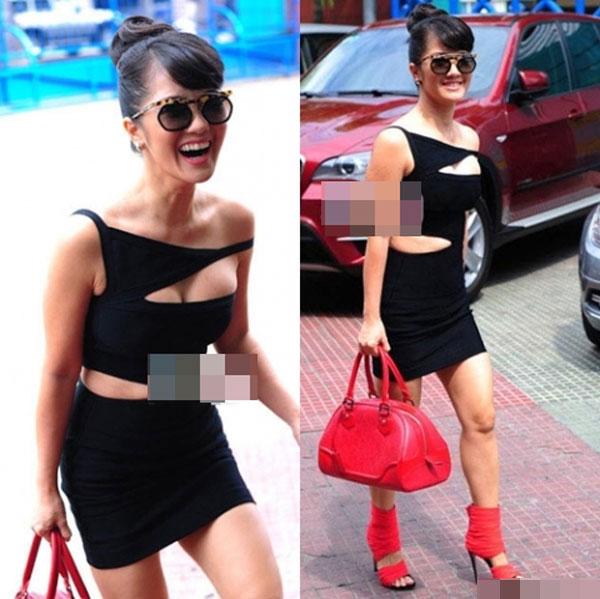 Mỹ nhân Việt và những pha ăn mặc hớ hênh nhất 2013 23