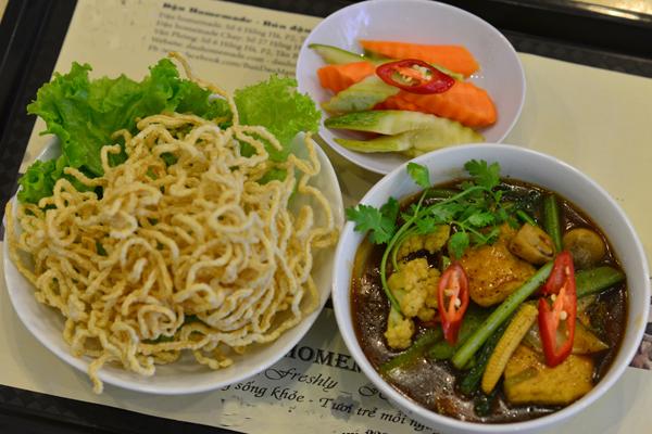 No miệng bữa trưa với những món ăn rau củ 1