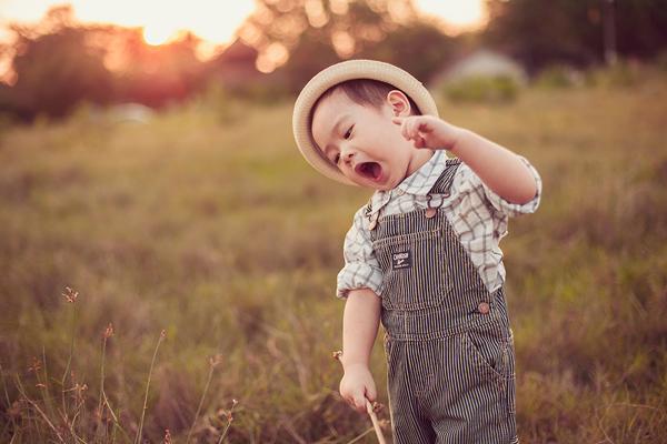 Con trai Lý Hải sành điệu tung tăng trên đồng cỏ 7