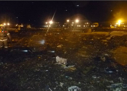 Kinh hoàng máy bay lao xuống đất ở Nga, 50 người thiệt mạng 1