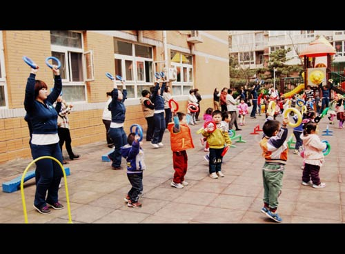 Một ngày tại mẫu giáo ở Bắc Kinh 4