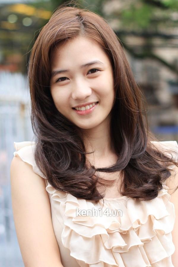 Những hot girl Việt có gương mặt đẹp không tì vết 7