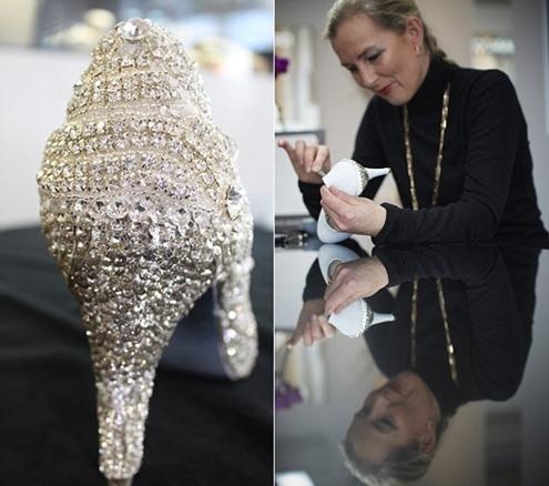 Chiêm ngưỡng đôi giày kim cương đắt nhất thế giới 2