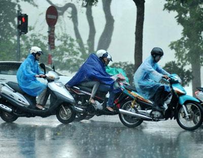 Dự báo miền Bắc bất ngờ đón gió mùa, đề phòng mưa to, mưa đá 1