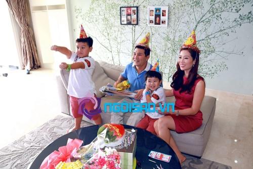Tổ ấm hạnh phúc của vợ chồng Á hậu Thu Hương 5