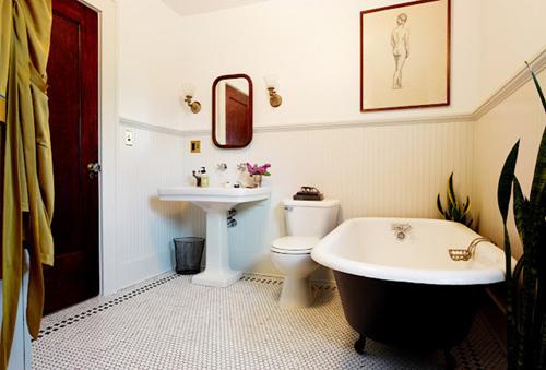 Làm mới phòng tắm với trang trí đơn giản 6