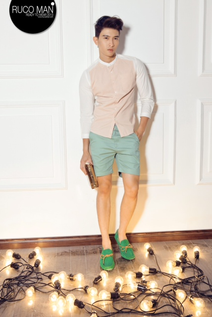 Biến hóa cho thời trang nam trong hè 2013 15