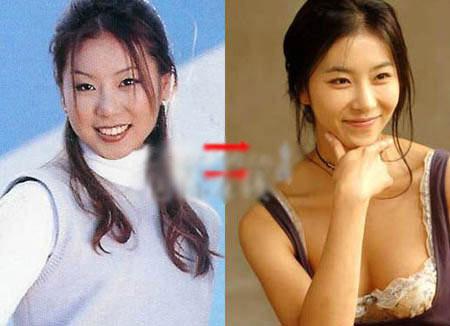 Khuôn mặt mỹ nhân Hàn biến đổi so với thời thiếu nữ 8