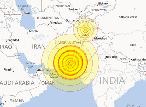 Kinh hoàng động đất mạnh ở Pakistan, 238 người chết 1
