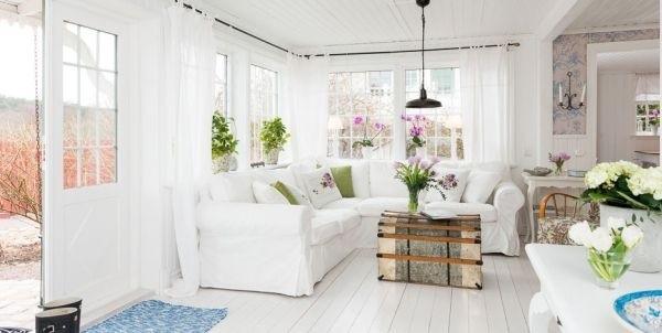 Ngắm ngôi nhà lãng mạn với tông màu trắng - xanh 4