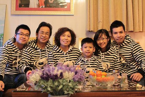 Gia đình hạnh phúc của nữ Phó giáo sư trẻ nhất 2013 3