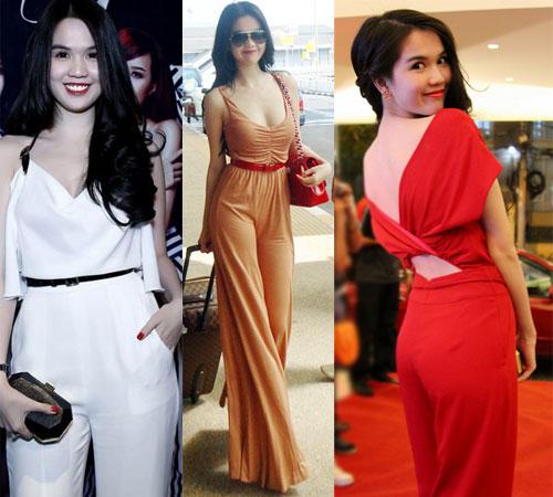 Sao Việt gợi cảm với jumpsuit sành điệu 1