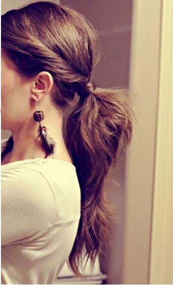 Mẹo tránh nóng cho mái tóc dài 7