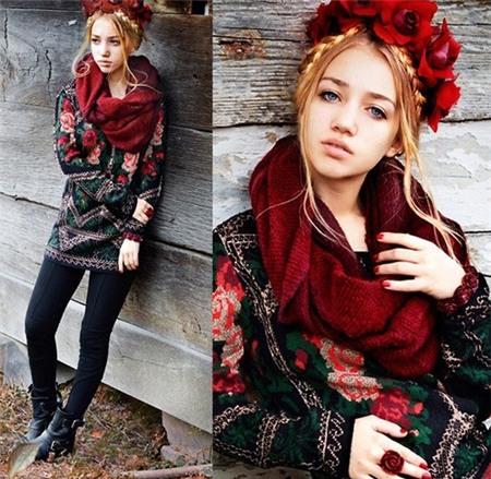 7 mẫu khăn xiêu lòng phái đẹp ngày đông 2