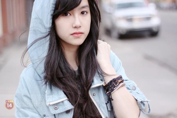 Những hot girl Việt có gương mặt đẹp không tì vết 5