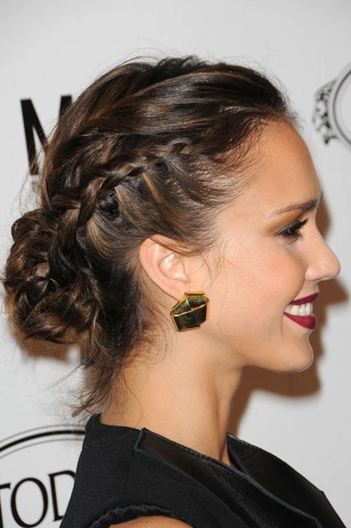 7 kiểu tóc búi, cột quyến rũ cho mùa Hè 2013 7