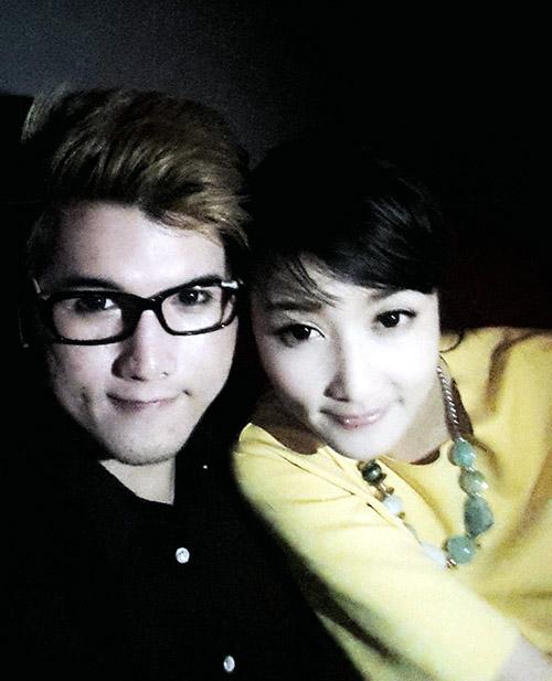 Lộ ảnh thân mật của hoa hậu Triệu Thị Hà và cháu trai quý bà Kim Hồng 3