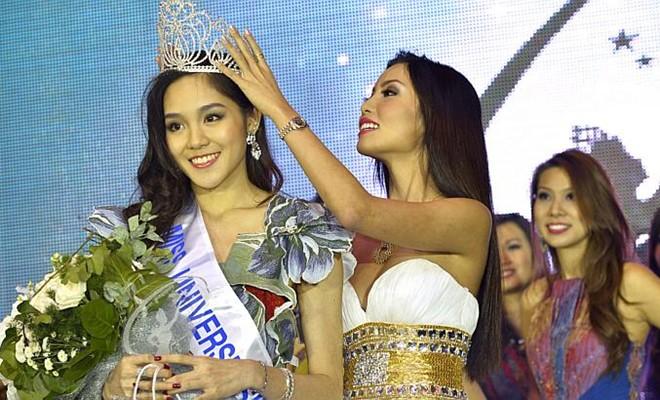 Đọ nhan sắc Trương Thị May và các Hoa hậu Hoàn vũ châu Á 11