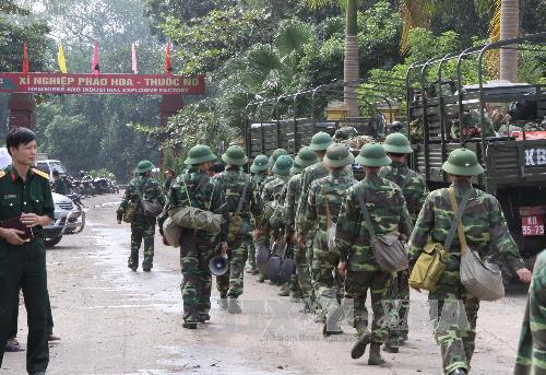 Hình ảnh thiệt hại vụ nổ kho thuốc pháo ở Phú Thọ 5