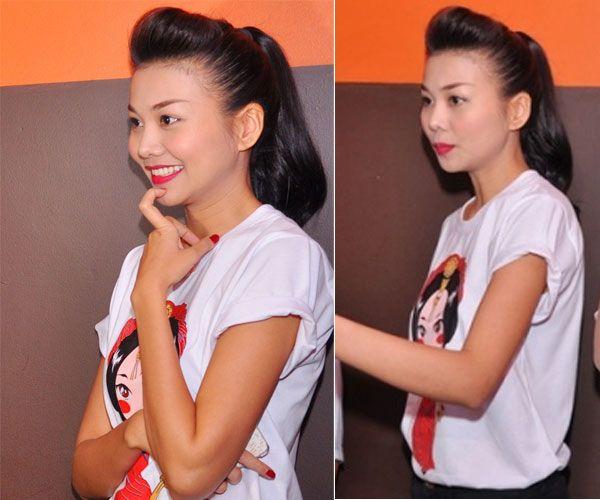 """5 """"nữ hoàng áo phông"""" của showbiz Việt 8"""
