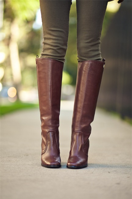 """Chọn và phối boots cao cổ cho nàng """"chân ngắn"""" 6"""